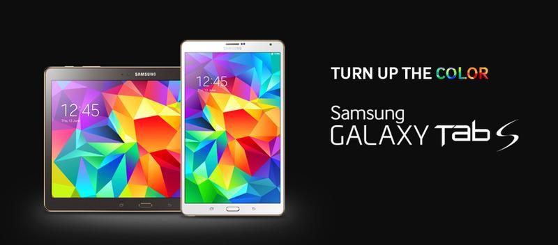 Samsung-新GalaxyTab Sを2機種発表。発売は来月の7月から