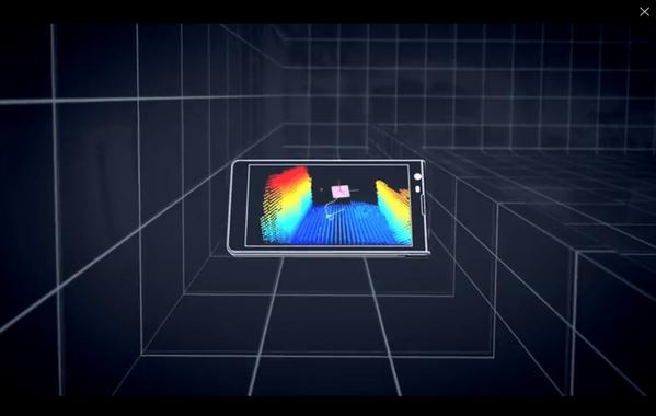 Google-3Dマッピング「Project Tango」タブレットを開発者向けに発売