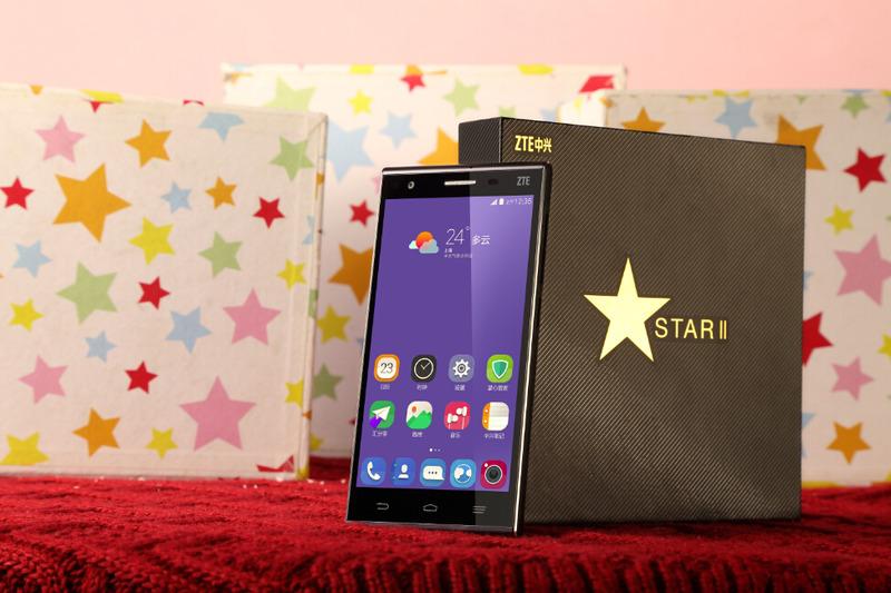 中国、ZTE 音声操作が可能なフラッグシップモデル「ZTE Star 2」が発表