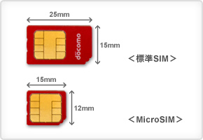 これからのスマートフォンはSIMカードが「microSIM」から「NanoSIM」へ変更か