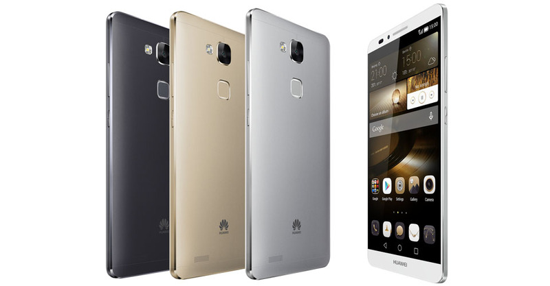 【IFA2014】Huawei、指紋センサー搭載の6インチAndroidスマートフォン「Ascend Mate7」を発表