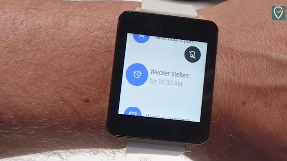 LG G Watchの主要スペックが記載された資料が流出