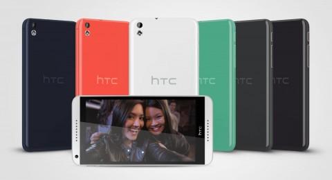 【MWC2014】HTC、Desireスマートフォンの後継モデル「Desire816/610」を発表