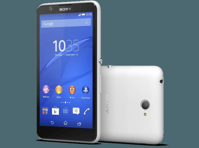 ソニー、2015年初機種エントリーモデルスマートフォン「Xperia E4」を発表