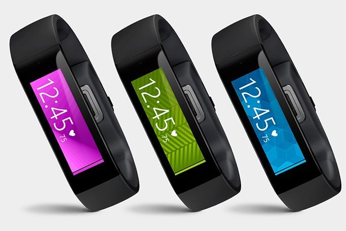 Androidでも利用可、リストバンド型スポーツウェアラブルデバイス「Microsoft Band」を発表
