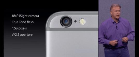 Apple、iPhone 6s のフロントカメラは800万画素の可能性
