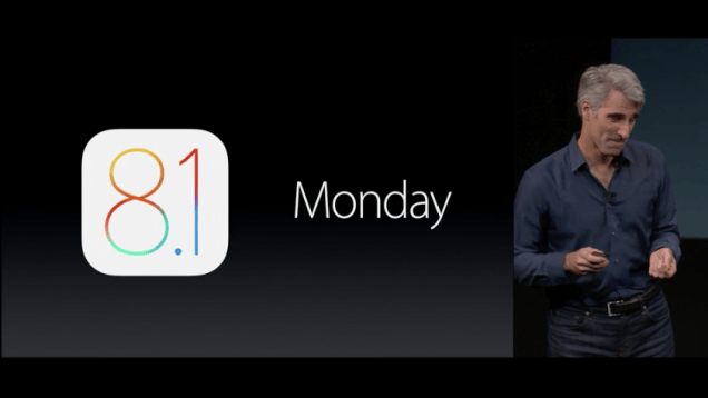 Apple、不具合の修正を目的としたiOS8.1.1を配布開始へ