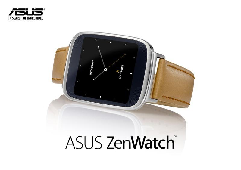 【IFA2014】ASUSで初となるAndroidWearを搭載したスマートウォッチ「ZenWatch」が発表