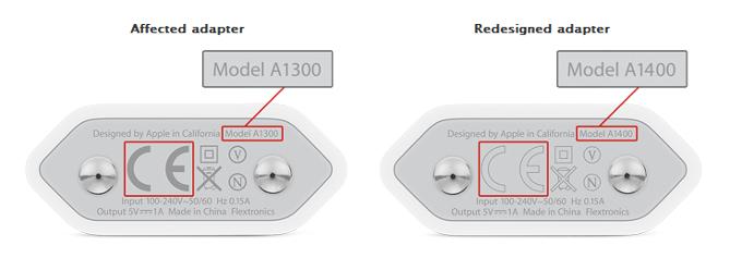 Apple-iPhone3GS-4s用充電器に不具合、交換プログラムを実施。(日本は含まれない)