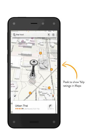 米Amazon-Amazon初となるAndroidベースのスマートフォン「Amazon Fire Phone」を正式に発表