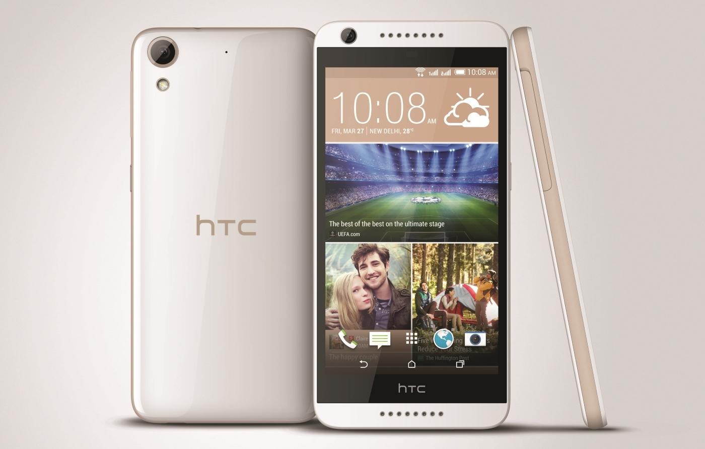 HTC,インド市場向けオクタコアプロセッサー搭載「Desire 626G +」を発表