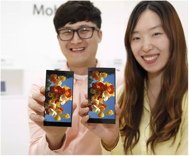 LG、LG G4に搭載される5,5インチ WQHD ディスプレイを発表