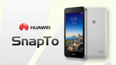 Huawei、LTEに対応したSIMフリースマートフォン「SnapTo」を発表-179ドル(約2,1万円)