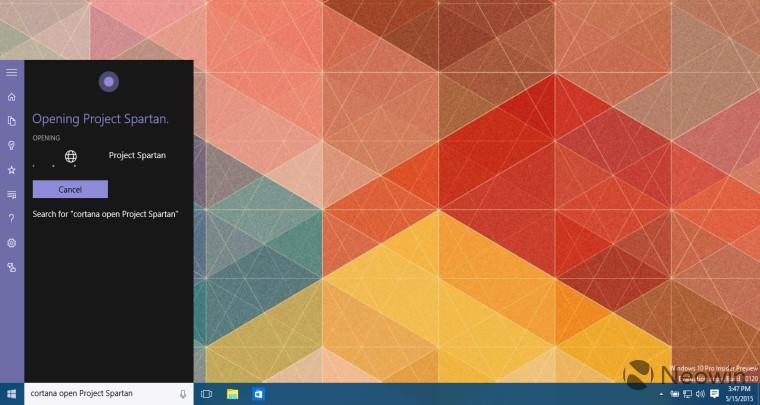 Windows 10では音声アシスタント「Cortana」でアプリの起動が可能に