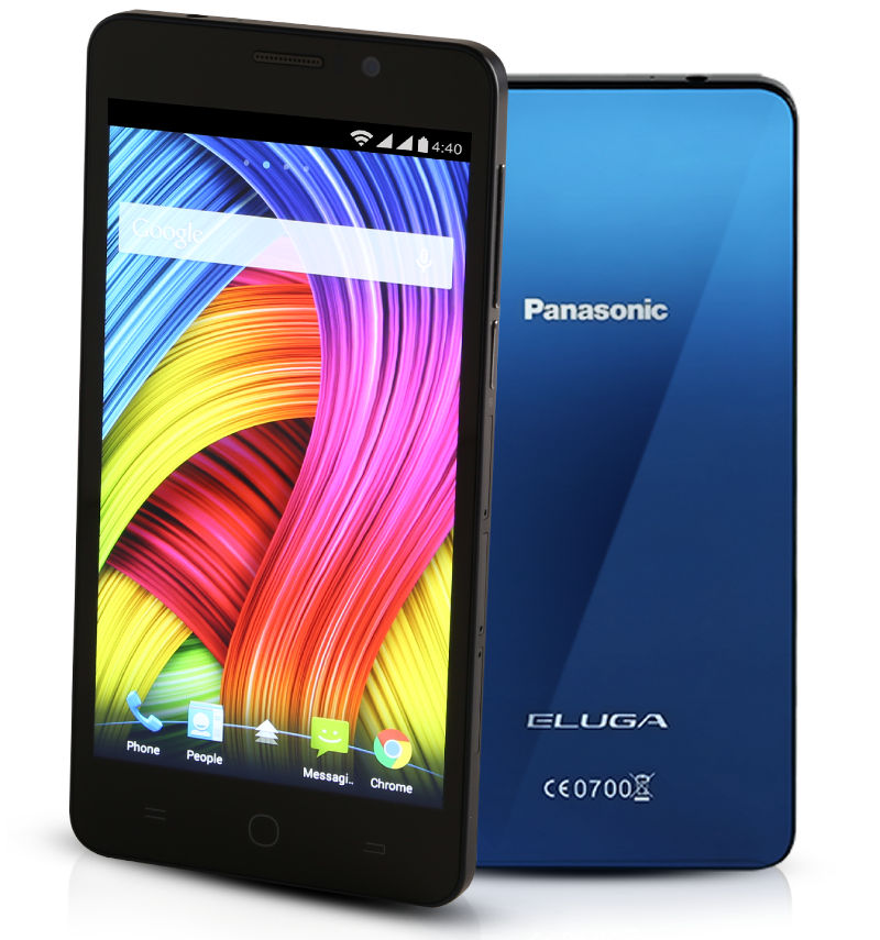 パナソニック、インド向けスマートフォン「ELUGA L 4G」を発表。スリムデザイン
