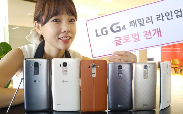 LG、「LG G4c」と「LG G4 Stylus」を発表