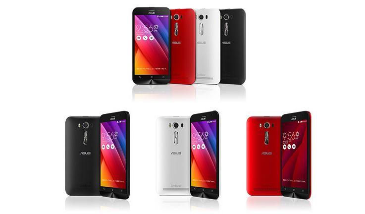 ASUS Japan、レーザーAF搭載の5インチスマートフォン「ZenFone 2 Laser」を8月8日 27,800円で発売へ