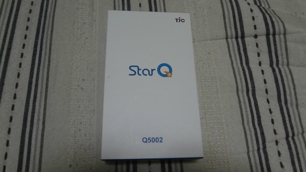 SIMフリースマートフォン TJC Star Q q5002を興味本位で買ってみた。