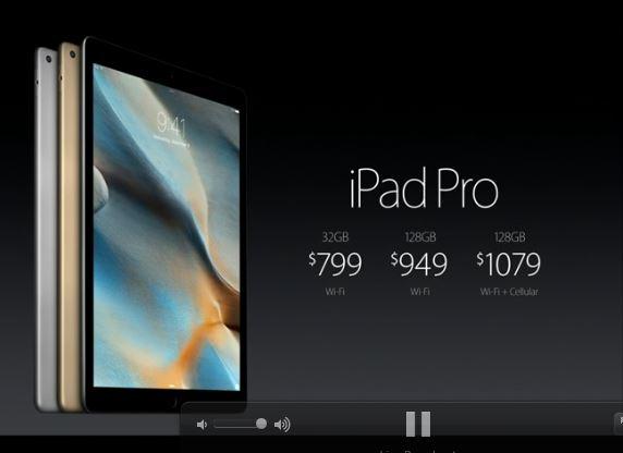 Apple、iPad Proは11月11日に発売か