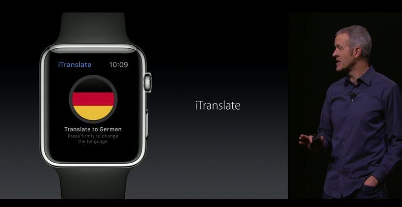 AppleWatchトランスレイター