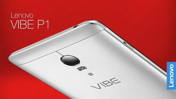 Lenovo、5000mAhバッテリー搭載スマートフォン「Lenovo VIBE P1」を発表