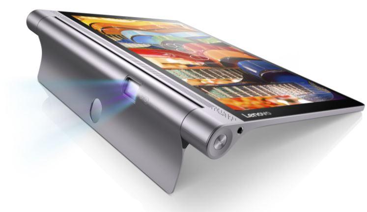 Lenovo、プロジェクター搭載10.1インチタブレット「YOGA Tablet 3 Pro」を発表