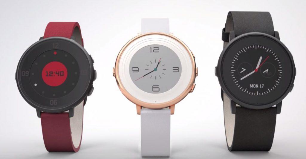 Pebble、円形電子ディスプレイを搭載したスマートウォッチ「Pebble Time Round」