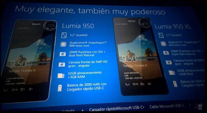 「Lumia 950」シリーズの資料が流出へ-スペックなど