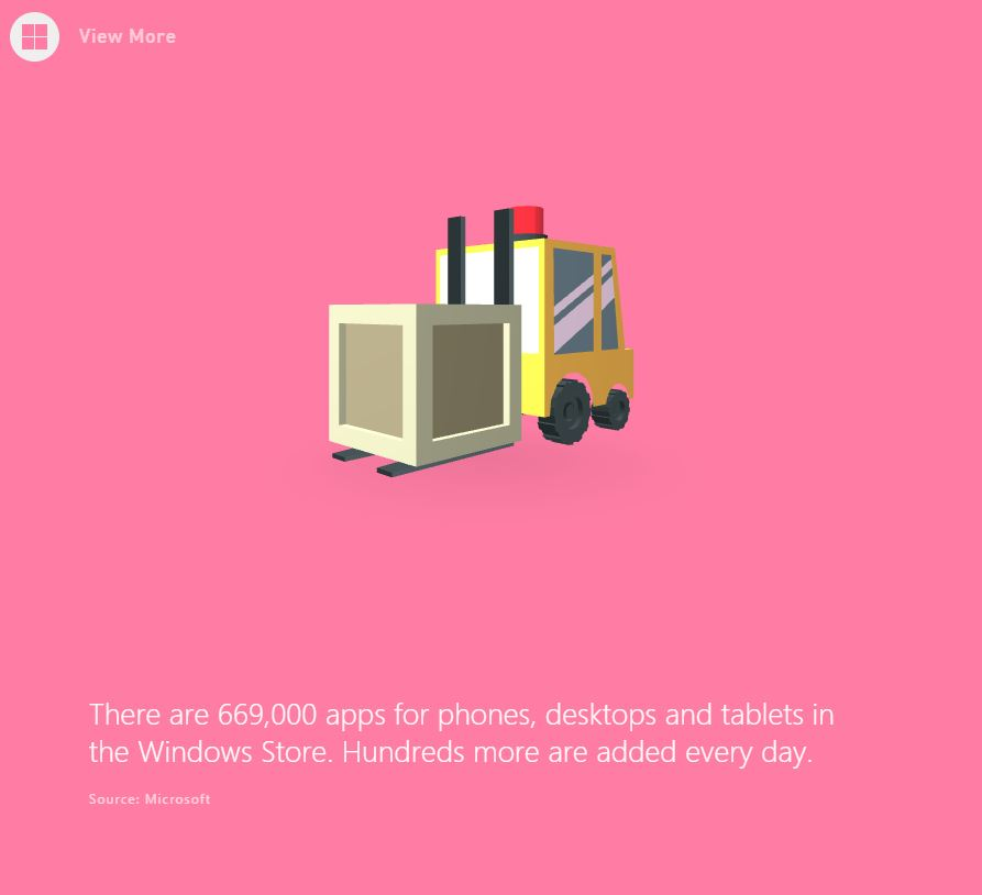 Windows Store アプリがもうすぐ70万本を突破へ!