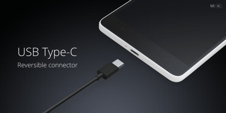 Xiaomi Mi 4c USB TypeC