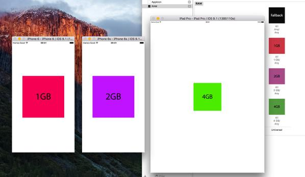 iPhone 6s とiPhone 6s PlusのRAM容量は2GB