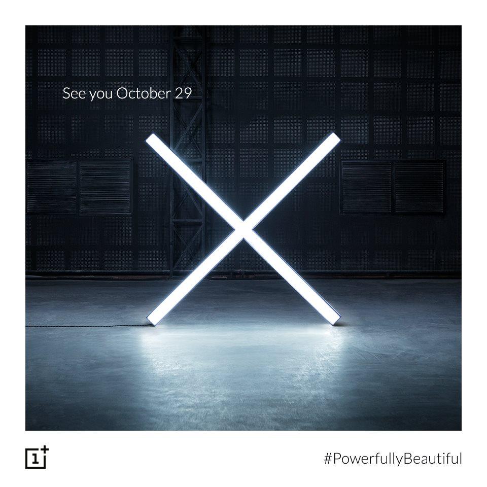 OnePlus Xが10月29日に発表?-ティザー画像