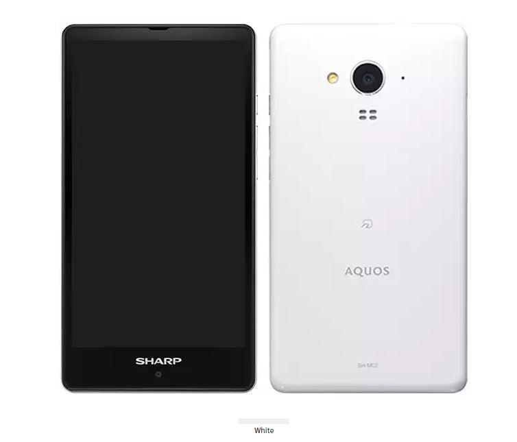シャープ、SIMロックフリースマホ「AQUOS SH-M02」を発表