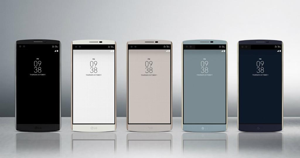 """LG、新シリーズ """"V""""「LG V10」を発表-超ハイスペスマホに"""