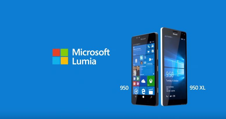 Microsoft、Windows Phone「Lumia 950 / 950 XL」「Lumia 550」を発表-ハイエンドモデルとローエンドモデルの2種類