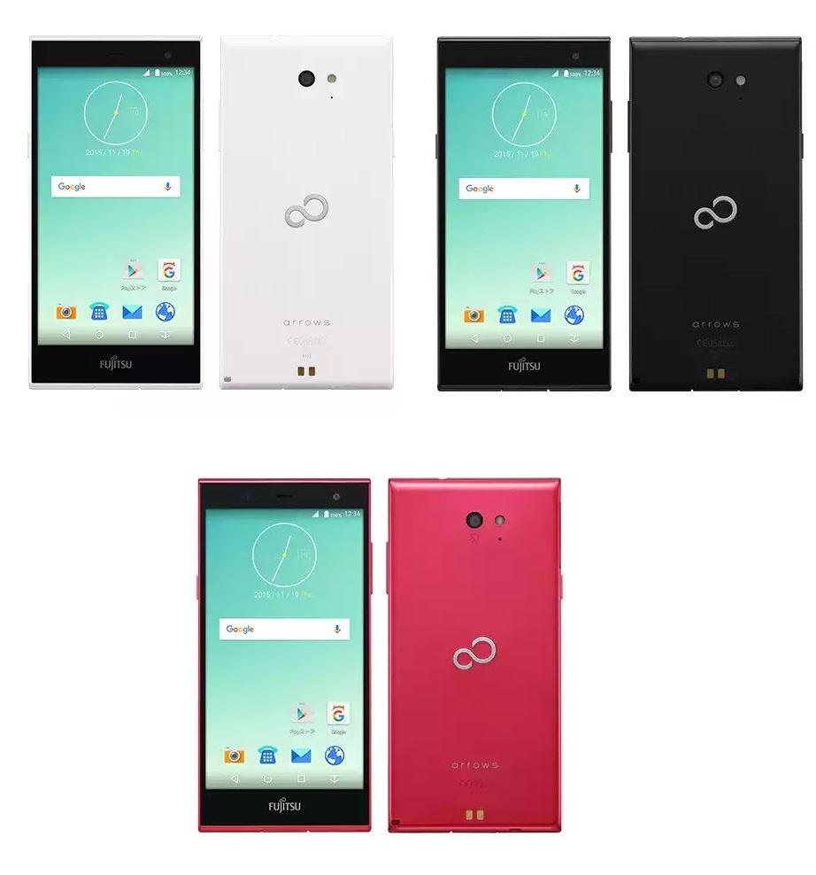 富士通、SIMフリースマートフォン「arrows M02」を発表
