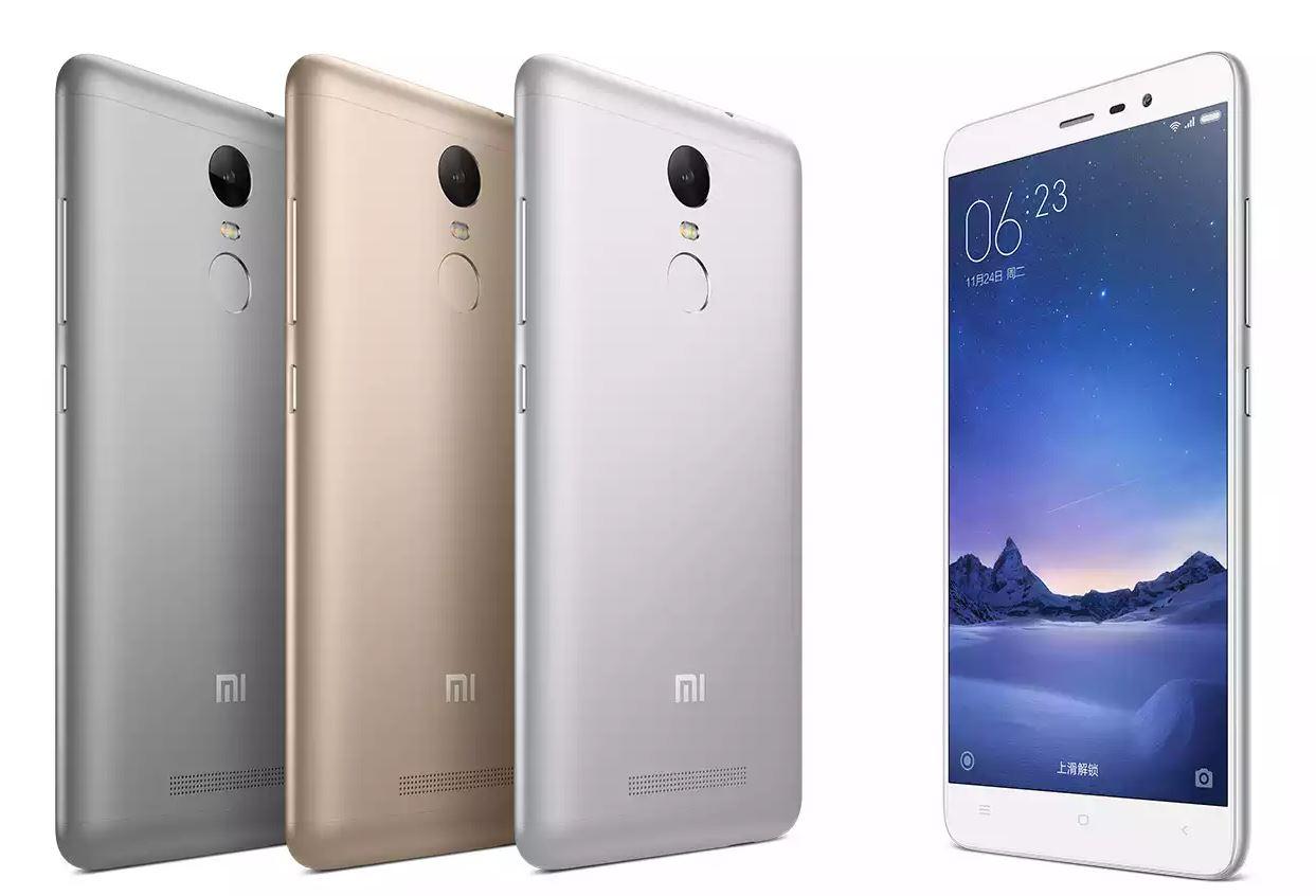 中国 Xiaomi MediaTek Helio X10搭載スマートフォン「Redmi Note 3」を発表