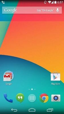 Android4.4,KitKatの標準ホーム画面をAndroid4.2以降の端末でも使ってみよう!導入方法の解説あり