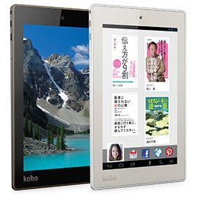 楽天もAndroidタブレット事業に参入「Kobo Arc 7HD」発売へ