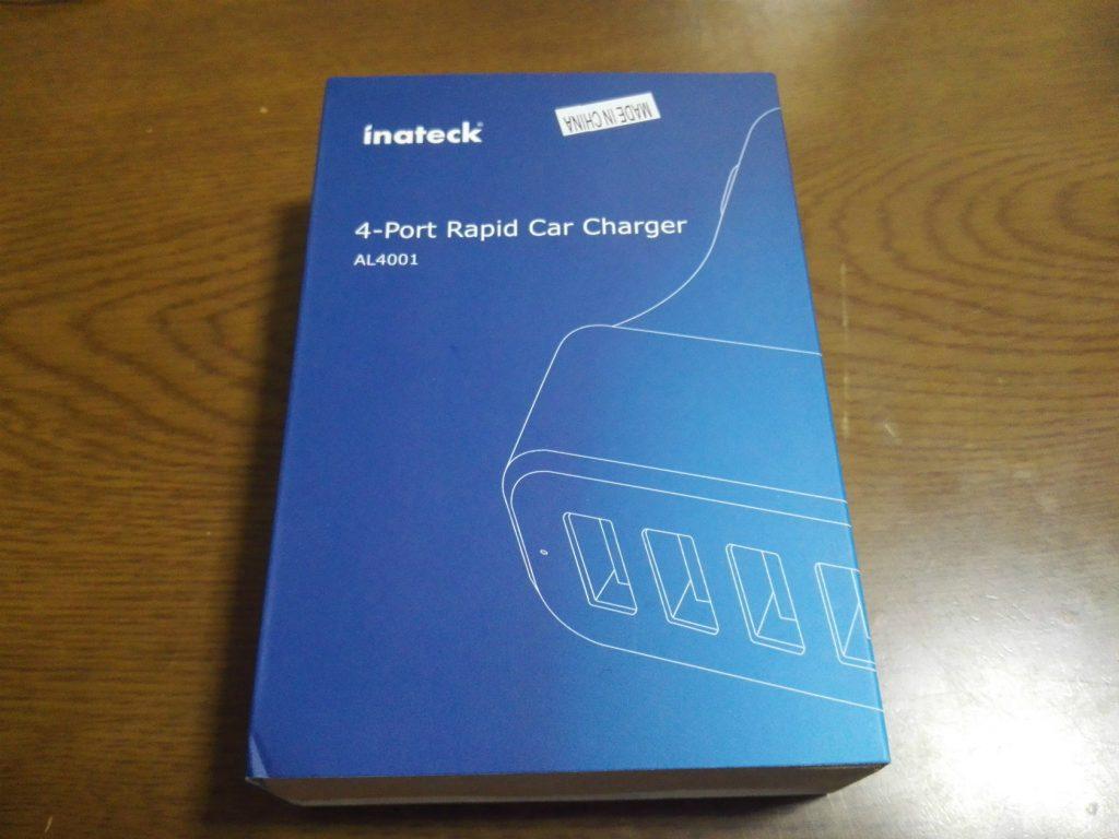 【レビュー】車でも急速充電を!Inateck 4ポート USBカーチャージャーの紹介