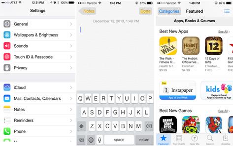 iOS7.1 Beta2 を開発者向けに配布-Apple