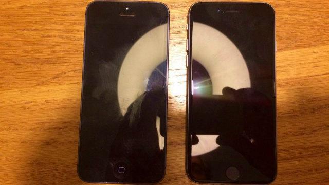 4インチ Apple 「iPhone 5se」の実機と思われる画像がネット上に公開される