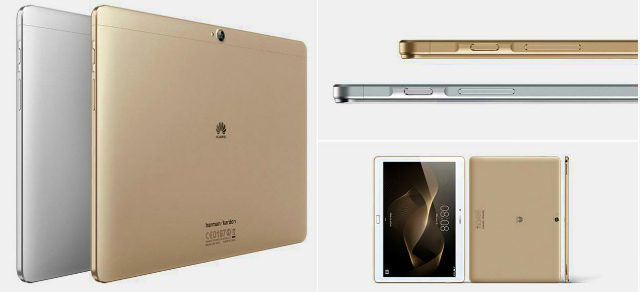 【CES 2016】Huawei、指紋センサー搭載のタブレット「MediaPad M2 10」を発表-日本でも発売
