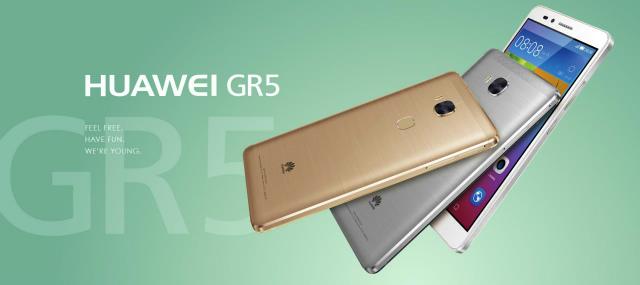 ファーウェイ・ジャパン、国内向けSIMフリーミドルエンドスマートフォン「HUAWEI GR5」を発表。2月12日発売。