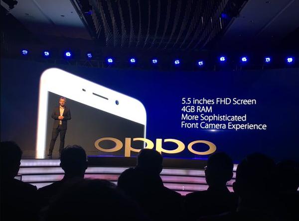 中国 OPPO、4GB RAMを搭載したZenFone 2キラー(?)「OPPO F1 Plus」を発表