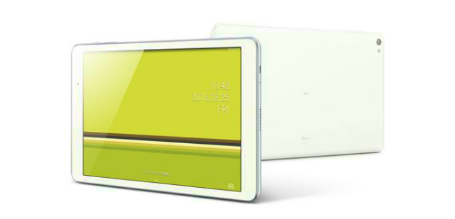 KDDI au 2016年春モデルHuawei製タブレット「Qua tab 02」を2月中旬に発売へ