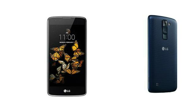 LG、ミッドレンジスマートフォン「LG K8 4G」を発表
