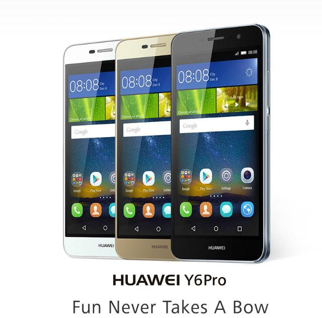 Huawei,ミッドレンジモデルスマートフォン「Huawei Y6 Pro」を発表