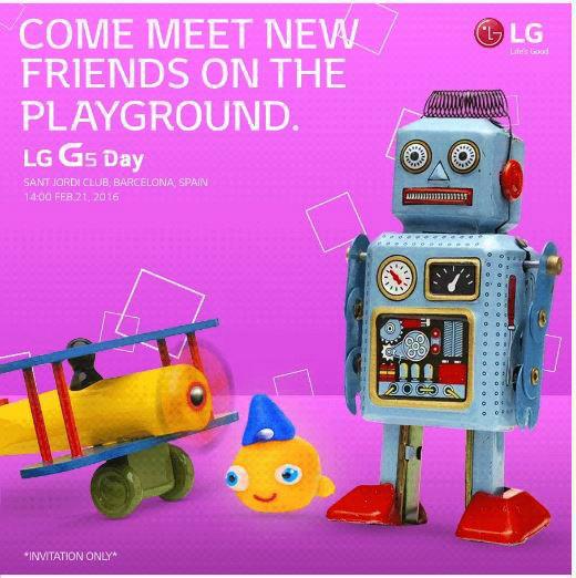 LG、「LG G5」を2月21日に発表すると告知