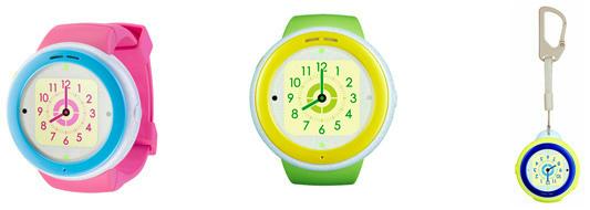 au KDDIが音声通話可能な子供向けウェアラブル端末「mamorino Watch」を発表。